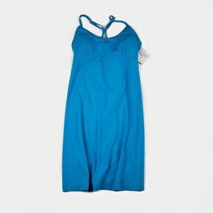 Athleta Shorebreak Swim Dress NWT in Blue